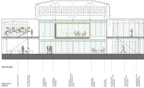 atlassian offices in san francisco ca by studio sarah willmer architecture 5 cross section bb atlassian ii_jpg atlassian offices studio sarah willmer