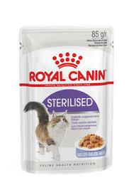 Кошкам :: Корм :: <b>Royal Canin</b> :: <b>Royal Canin Sterilised</b> в желе <b>пауч</b> ...