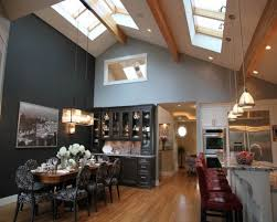 cool kitchen cathedral ceiling ideas best lighting for kitchen ceiling