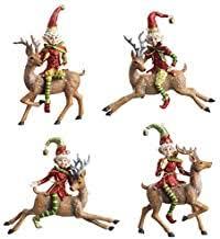 Santa Ornaments for Christmas Tree - Amazon.com