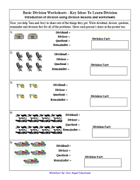 Division worksheets For KidsPrint the basic division worksheet by clicking on the image. For more dividing worksheets visit