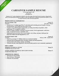 nanny resume sample  amp  writing guide   resume geniusresume sample for a caregiver