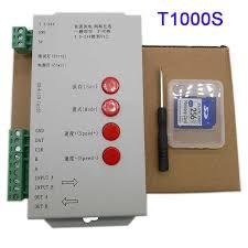 <b>T1000S</b> with SD <b>Card</b> WS2801 WS2811 WS2812B LP6803 LED ...