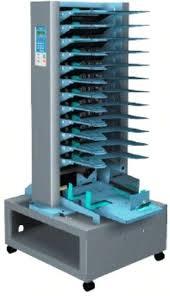 <b>Duplo DFC</b>-<b>120A</b> Roller Feed Collator, 12 Bins, Paper Size (Min ...