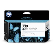 Genuine <b>HP 730</b> 130ml <b>Matte</b> Black Ink | P2V65A | ShopTECH at RPG