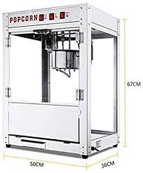 Commercial Electric <b>Popcorn Maker</b>, 1400w <b>Automatic</b> Popcorn ...