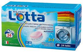 <b>Таблетки Lotta для стирки цветного</b> белья — купить по выгодной ...