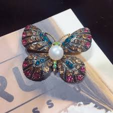 <b>SHDIYAYUN</b> 2019 Factory Direct Sale Vintage Butterfly Brooch ...