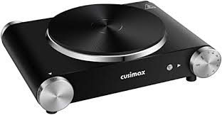 CUSIMAX Electric Hot Plate for Cooking Portable ... - Amazon.com