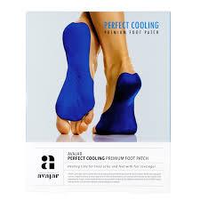 <b>Патч охлаждающий</b> для <b>ступней</b> ног Avajar Perfect Cooling ...