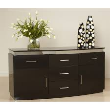 Dining Room Furniture Sideboard Modern Chintaly Xenia Buf Modern Brown White Living Room Color