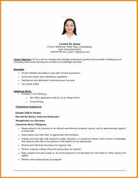 writing my resume objective cipanewsletter 10 example resume objective resume reference