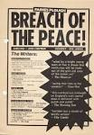 breach of the peace