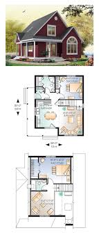 ideas about Small House Plans on Pinterest   House plans    Cottage Style COOL House Plan ID  chp    Total Living Area