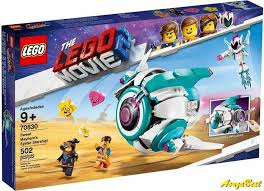 The <b>LEGO Movie</b> 2 Sweet Mayhem's Systar Starship (<b>70830</b>) NEW ...