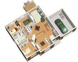 Simple Three Bedroom House Plan   PM   st Floor Master Suite    Floor Plan