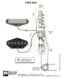 wiring diagrams guitar hss aut ualparts com wiring 1953 tele wiring diagram seymour duncan