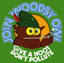 Image result for woodsy owl