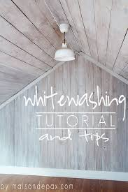 a clear tutorial and helpful tips on how to give wood a bright beautiful whitewash basics whitewash