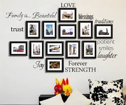 Family Words Wall <b>Decal</b> Set of 12 love trust blessing <b>smile Quotes</b> ...