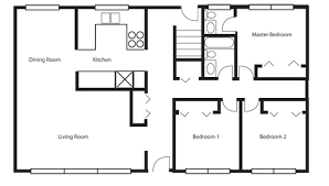 floor plan aflfpw story home baths  houseplanscom    bungalow floor plan on ranch house plans s