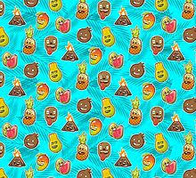 Mango Pineapple <b>Drawstring Bags</b> | Redbubble