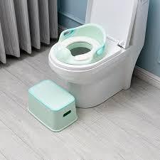 Kids Plastic Multifunction Footstool <b>Baby Portable Toilet</b> Training ...