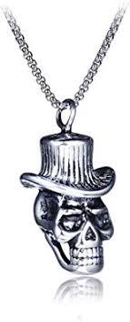 FHIKLW Necklace <b>Men's</b> Necklace <b>Hip Hop</b> Hollow <b>Retro</b> Titanium ...