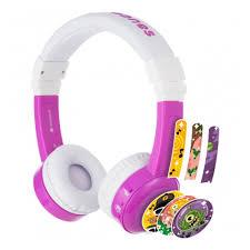 Наушники <b>BuddyPhones InFlight</b>, фиолетовый — купить в ...