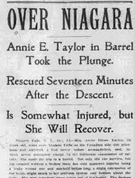 「Annie Edson Taylor」の画像検索結果