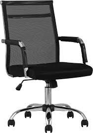 <b>Кресло офисное TopChairs</b> Clerk черный/хром купить за 5990 ...