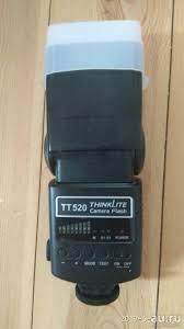 Универсальная <b>фотовспышка Godox</b> TT 520 — купить в ...