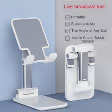 <b>Foldable Metal Universal phone</b> holder & stand Desk For iPhone 11 ...