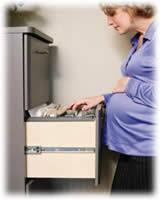 Resultado de imagen de trabajadora embarazada