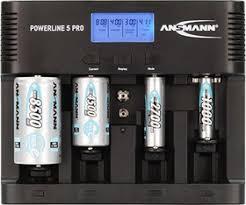 <b>Ansmann Powerline</b> 5 Pro, <b>Устройство зарядное</b> с ЖК дисплеем ...