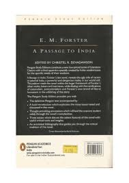 passage to by e m forster a passage to by e m forster