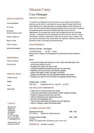 case manager resume  template  sample  example  job description    case manager resume  template  sample  example  job description  cv  social care  patients  carer