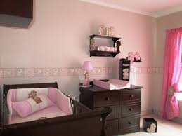 scruffy bear nursery decor walls painted neutral with pinkstone wall border the baby nursery ba room wallpaper border