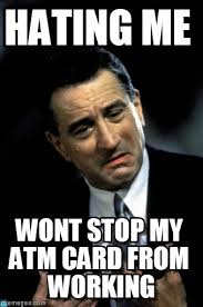 Hating Me - De Niro meme on Memegen via Relatably.com