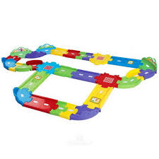 Обучающая игрушка <b>Автотрек</b> Бип-Бип <b>Toot</b>-<b>Toot Drivers</b> со звуком