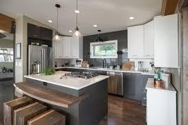 cabin kitchen white cabinets