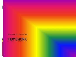 Homework powerpoint SlideShare