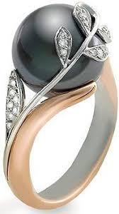 Жемчужные желания | Черные <b>кольца</b>, Ювелирные украшения и ...