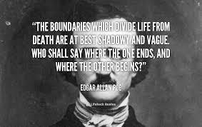 Edgar Allan Poe Quotes About Death. QuotesGram via Relatably.com