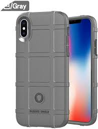 for iPhone X Xs Xs Max XR <b>Soft Silicone Rugged Shield</b> Armor ...