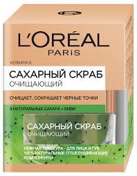 <b>L'Oreal</b> Paris скраб для лица <b>Сахарный</b> очищающий — купить по ...