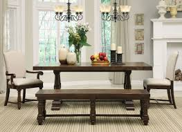 Nice Dining Room Tables Perfect Ideas Dining Room Tables With Bench Color Rendering May Be