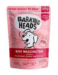 """Консервы для собак с говядиной """"<b>Вуф</b>-<b>строганов</b>"""" <b>Barking Heads</b> ..."""