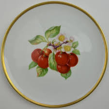 Hutschenreuther Selb | Fruit Pattern, Cherries, Salad Plate, Favorit ...