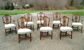 shield dining chairs antique george lll shield back dining chairs